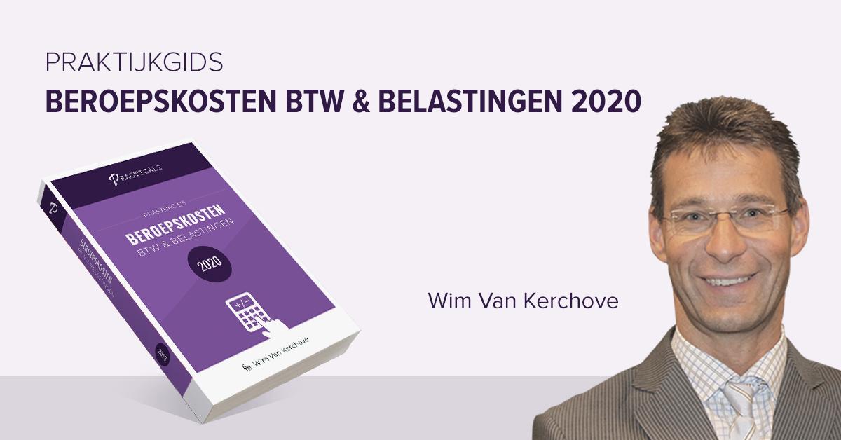 boek aftrekbare beroepskosten 2020!