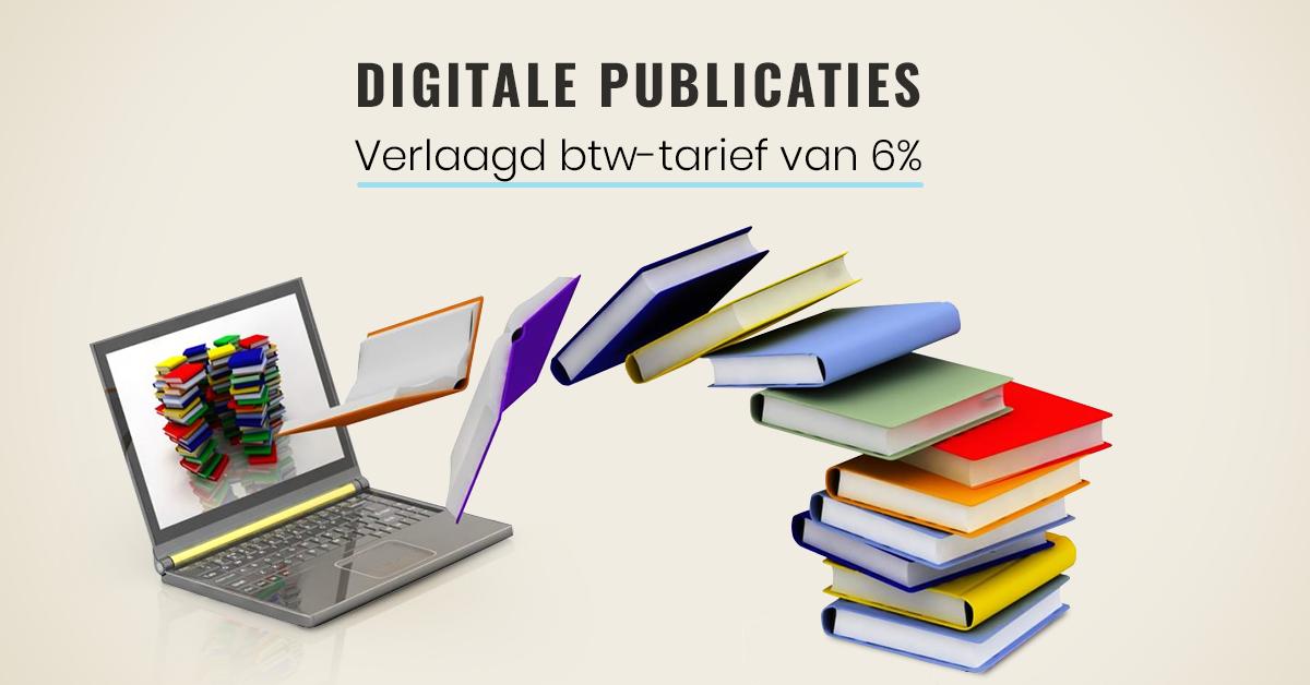 digitale publicaties verlaagd btw tarief van 6 procent