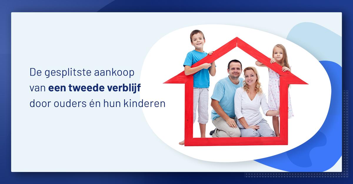 gesplitste aankoop van een tweede verblijf door ouders en kinderen