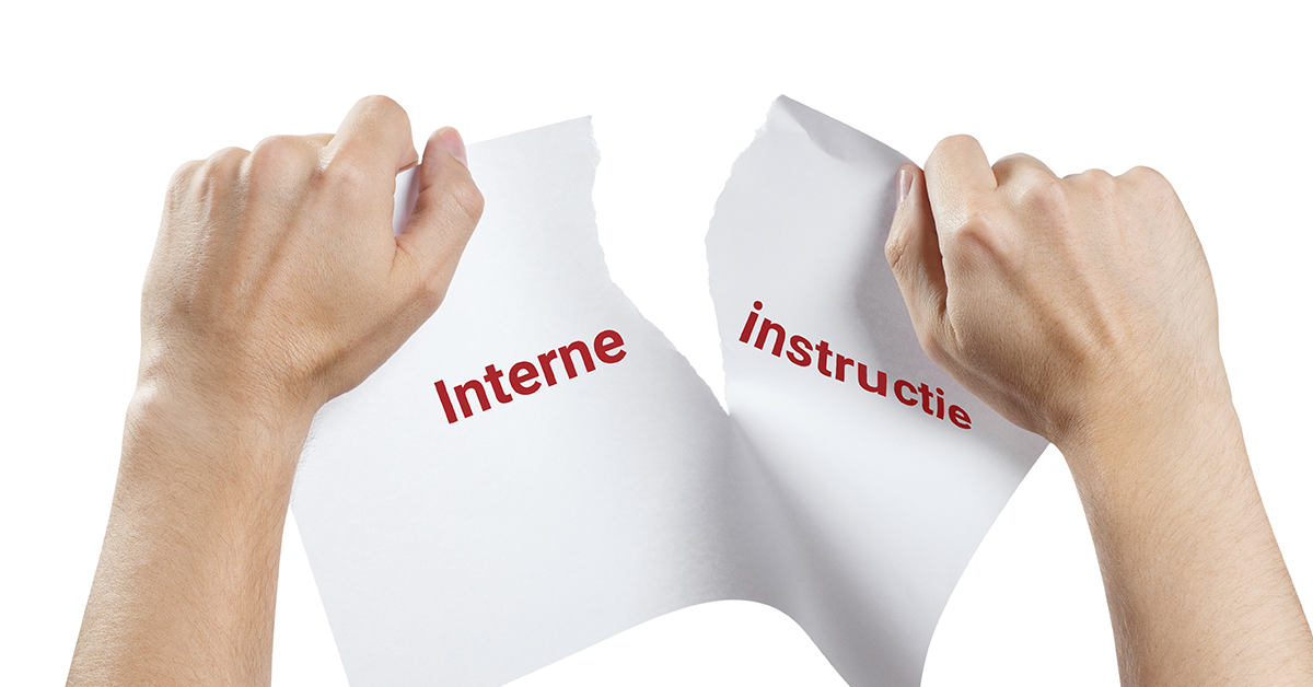 interne instructie