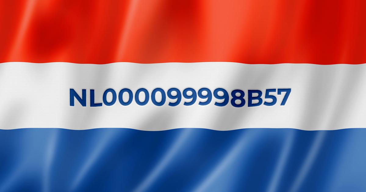 Nederland kent nieuwe btw-nummers toe aan natuurlijke personen