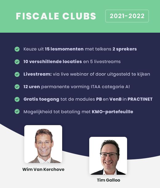 Fiscale clubs 2021-2022