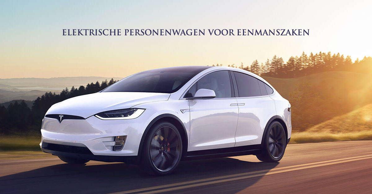 Elektrische personenwagen voor eenmanszaken