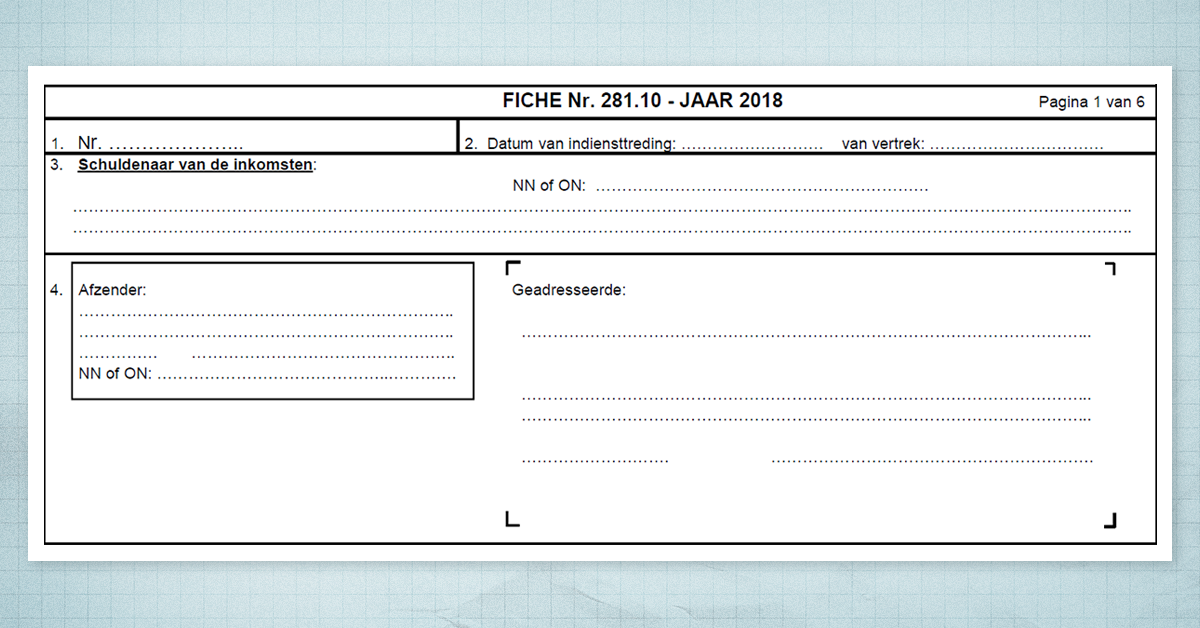 Fiscale Fiches