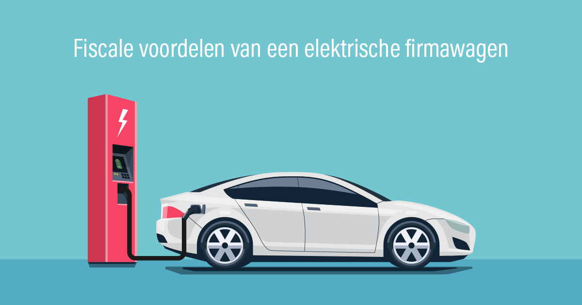 Fiscale voordelen - elektrische firmawagen