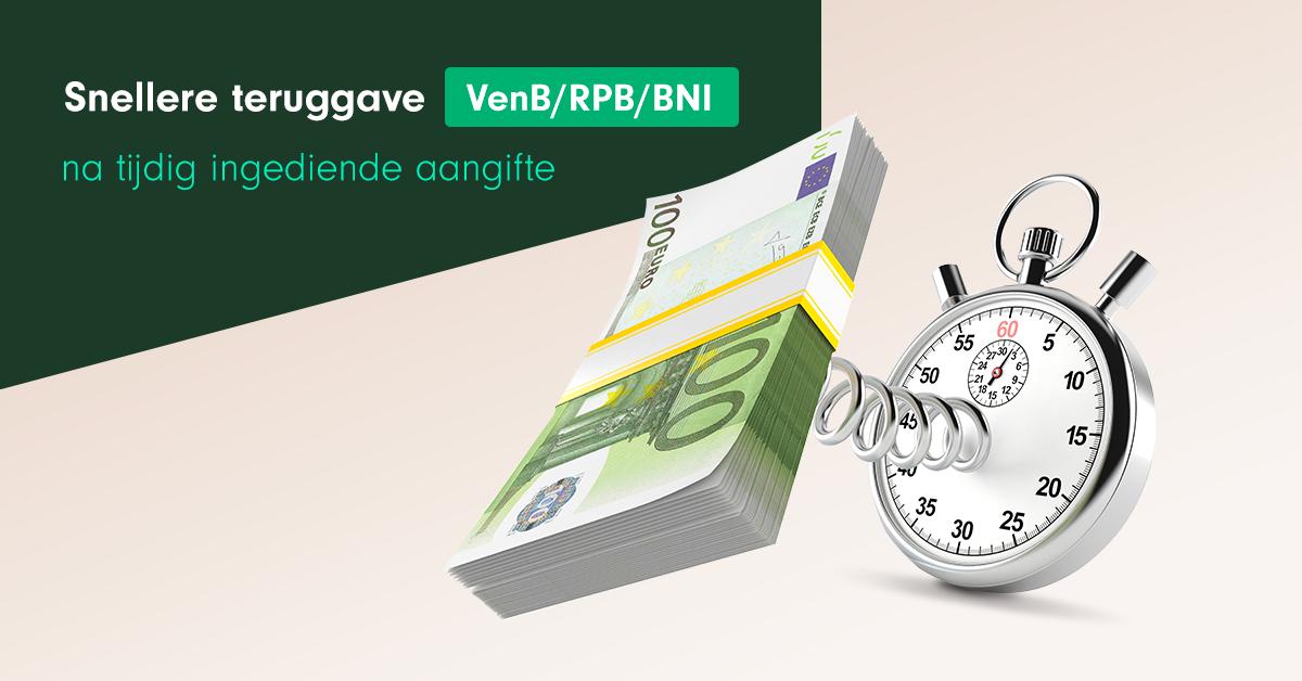 Snellere teruggave VenB RPB BNI