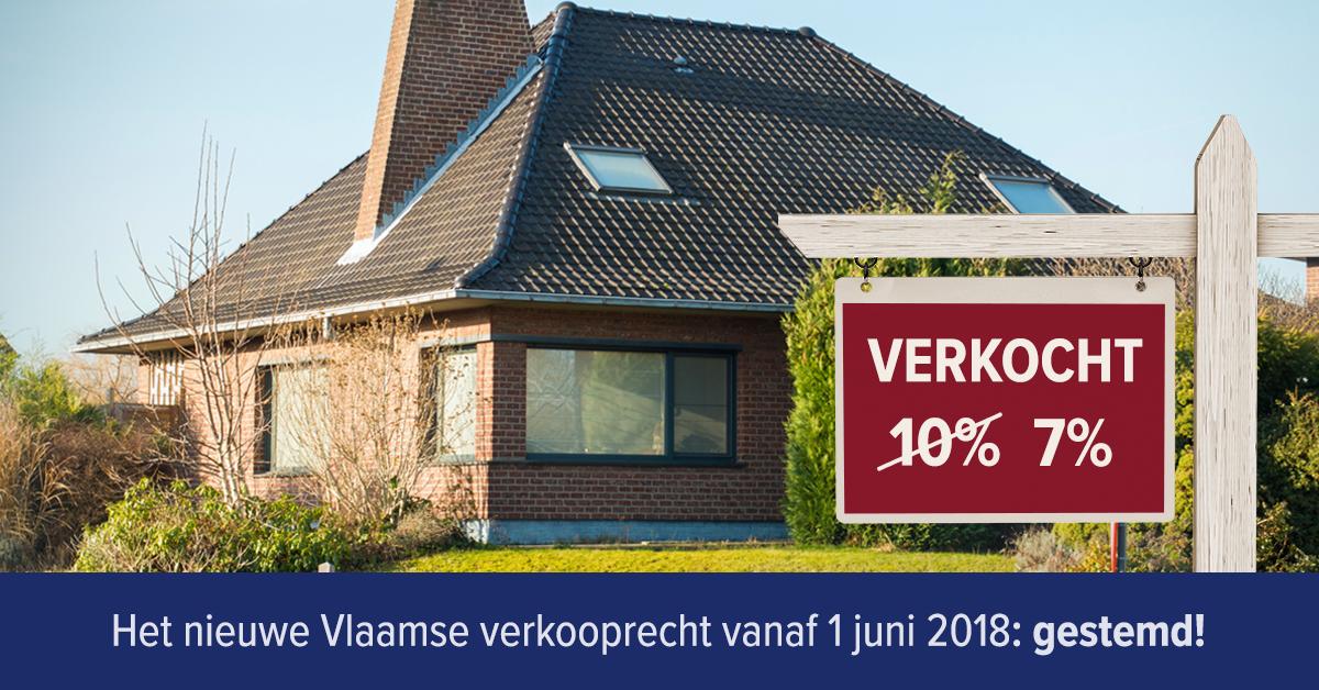 Verlaging Vlaams verkooprecht