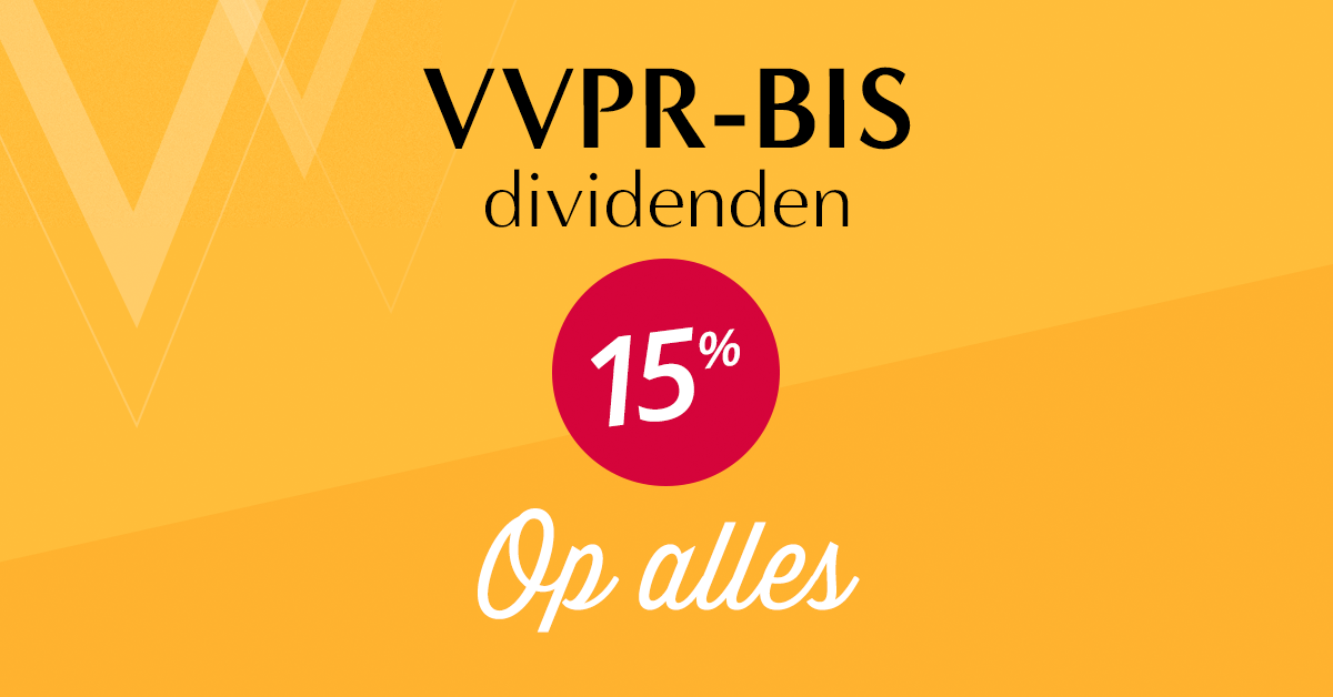 VVPR-bis dividenden winst